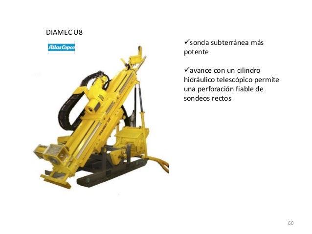 DIAMEC U8 sonda subterránea más potente avance con un cilindro hidráulico telescópico permite una perforación fiable de ...