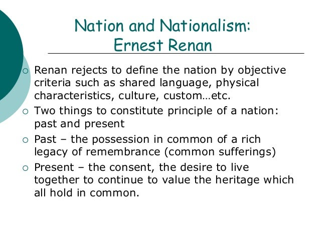 define the concept of nationalism