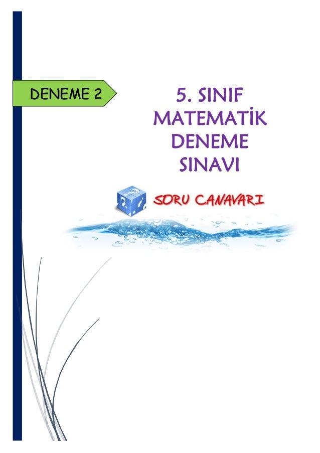Snf Matematik Deneme Snav 2