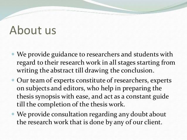 Dissertation consultation services forum