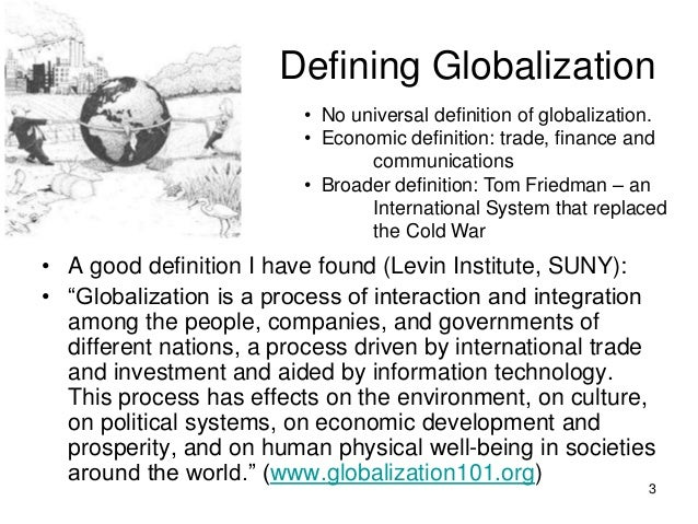globalisation capitalism thesis