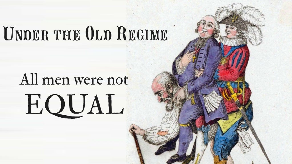under the old regime all
