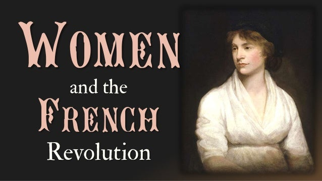 Womenand the French Revolution