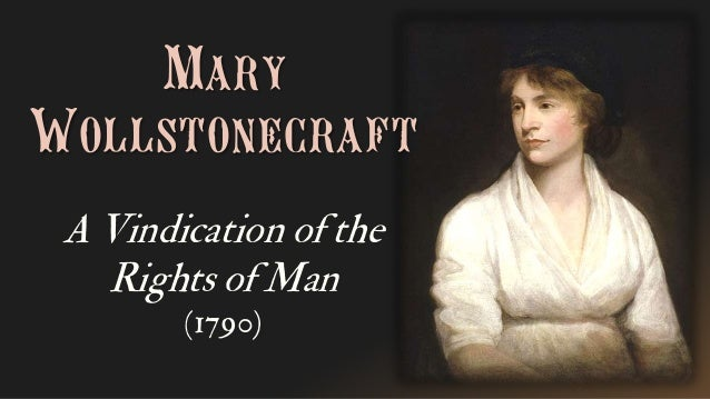 according to mary wollstonecraft in 'a