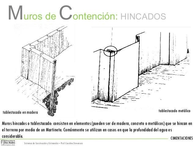 5 cimentaciones 2 - Muros de contencion de piedra ...
