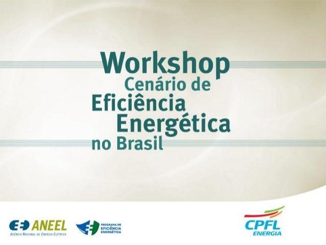 © CPFL Energia 2009. Todos os direitos reservados. O mercado de Eficiência Energética no Brasil Effektivitet Energimarkede...