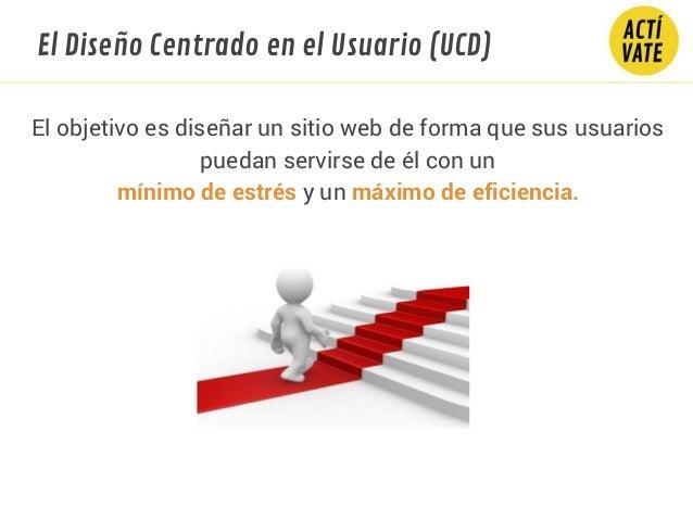 El objetivo es diseñar un sitio web de forma que sus usuarios puedan servirse de él con un mínimo de estrés y un máximo de...