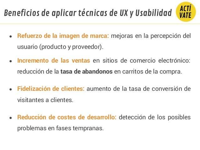 ● Refuerzo de la imagen de marca: mejoras en la percepción del usuario (producto y proveedor). ● Incremento de las ventas ...