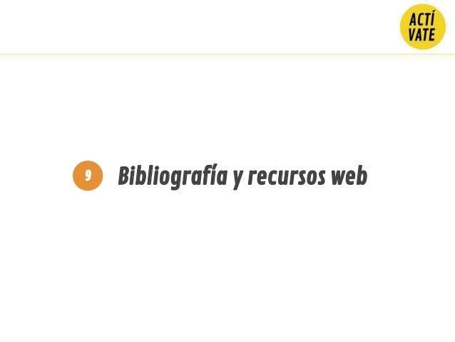 Bibliografía y recursos web9