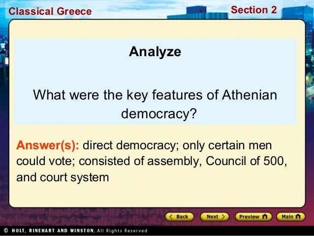 athenian democracy essay cutrone Athens and democracy research papers explore the political system of athens get a research paper cover with paper masters.