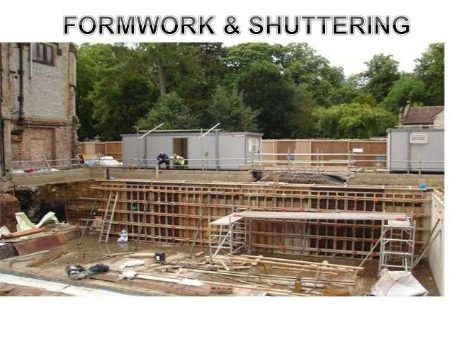 Civil Engineering Drawing &  Graphics  What is formwork?  When concrete is fresh and in its liquid state it must  be restr...