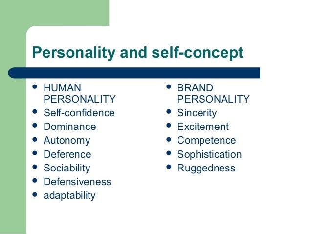 Self Image Self Esteem, Consumer Behavior, Personality Advertisement