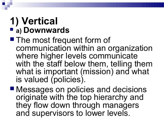 5. communication in organisations