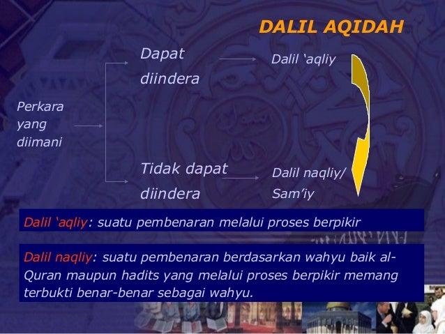 5. aqidah rukun iman Mabda ISLAM Rahmat Kurnia Slide 3