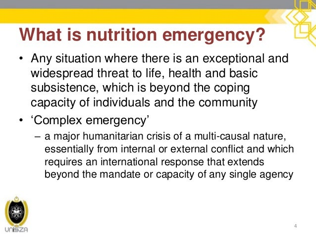 5 Nutrition In Emergencies