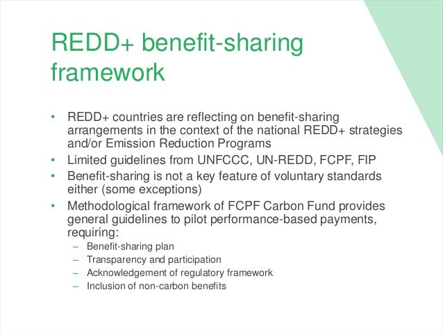 Challenges and lessons learnt in framing REDD+ benefit-sharing in the…