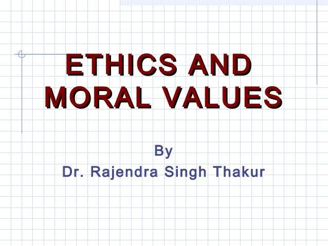 non moral values definition