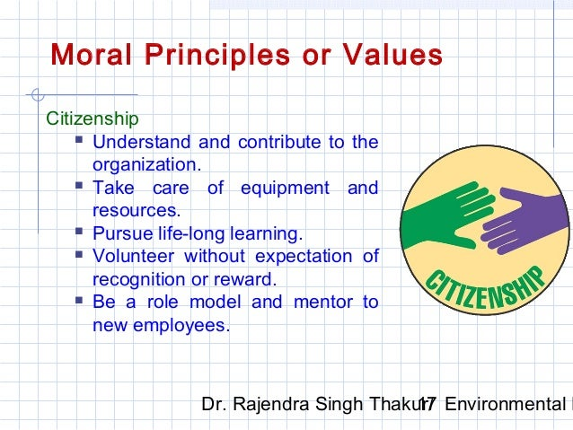 ethics and moral value