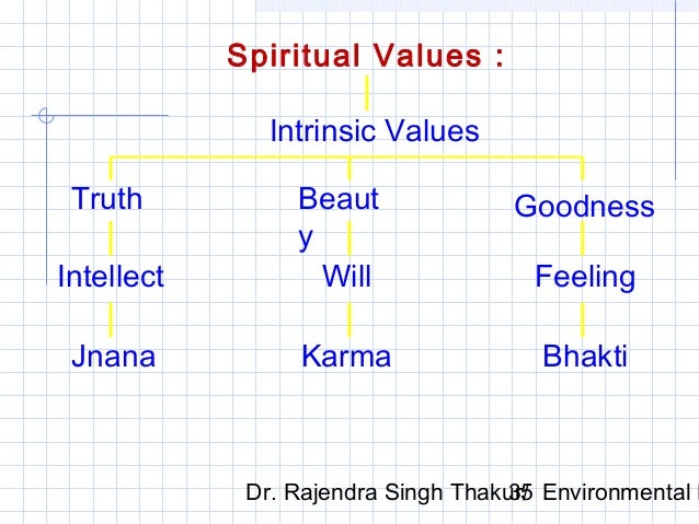 ethics and moral value  environmental ethics 35 spiritual values
