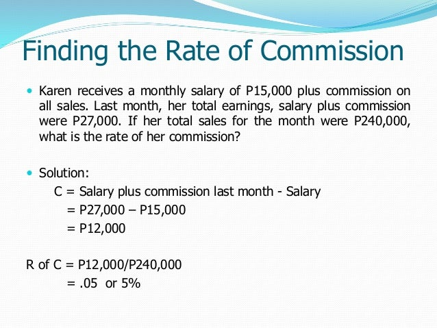 commission gross proceeds and net proceeds