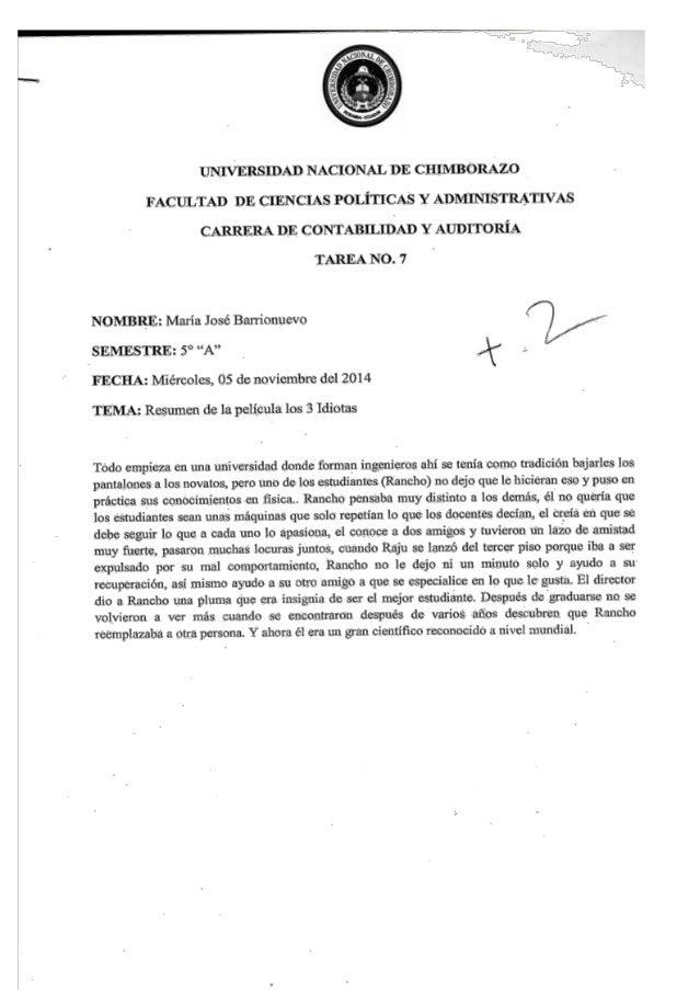 IJNIVERSIDAD NACIONAL DE CHIMBORAZO  FACULTAD DE CIENCIAS POLíTICAS Y ; DL^IINIS'I`ILVTI'; S CARRERA DF.  CONTABILIDAD Y A...