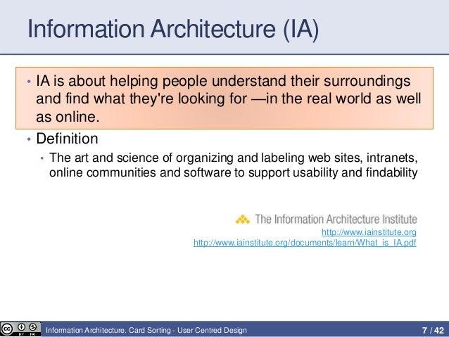 Superbe Information Architecture ...