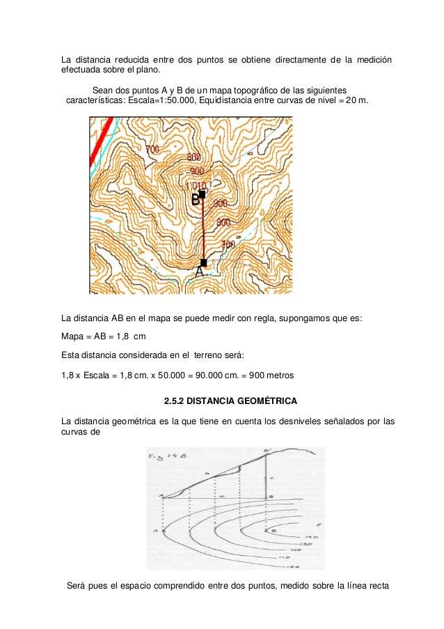 5. distancias y curvas de nivel