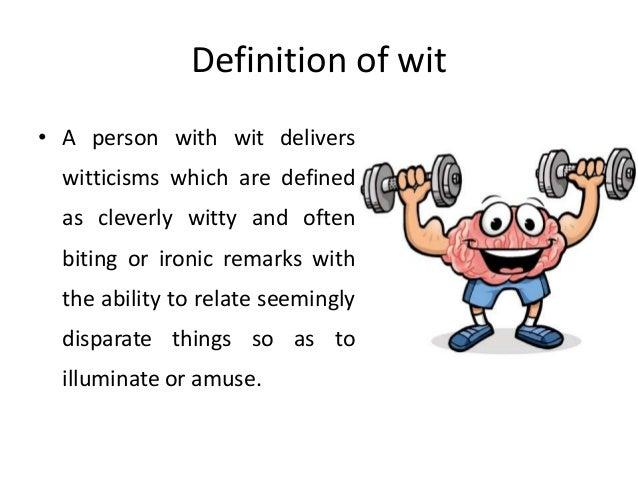 Define witty remark