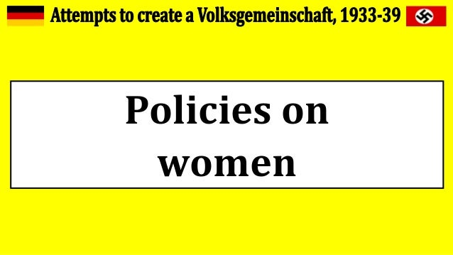 Policies on women