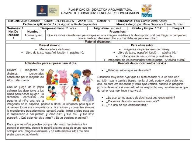 Escuela: Juan Carrasco Clave: 25EPRO347W Zona: 026 Sector: VI Practicante: Félix Carrillo Alma Karely. Fecha de aplicación...