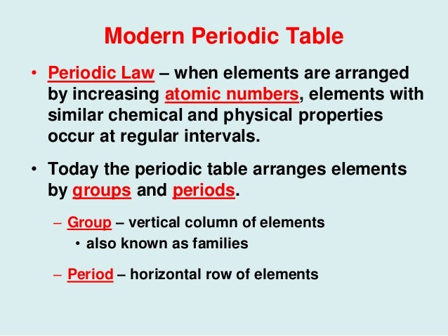 56 history of the periodic table modern periodic table urtaz Images