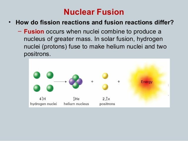 nuclear fusion vs fission Hydrogen bomb vs  atomic bomb: what  thermonuclear bombs start with the same fission reaction that powers atomic bombs — but the majority  nuclear fusion.