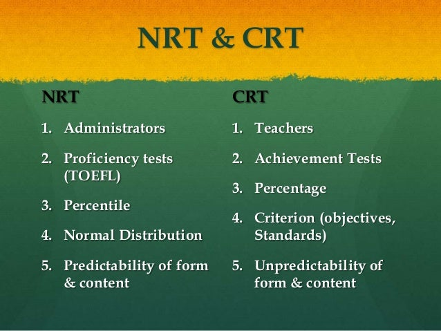 difference between norm referenced and criterion referenced tests Norm-referenced tests vs criterion-referenced tests norm-referenced tests vs criterion-referenced  nrts are designed to highlight achievement differences between.