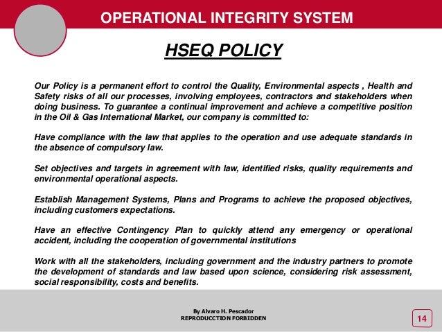 5 hseq management oil amp gas