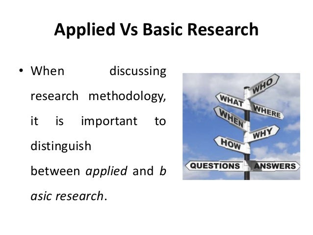 basic research and applied research Acta neurochir suppl 200283:45-8 basic research vs applied research reulen hj(1) author information: (1)department of neurosurgery, ludwig maximilians university, klinikum grosshadern, munich, federal republic of germany research rotation is an important component in the education of a neurosurgical.