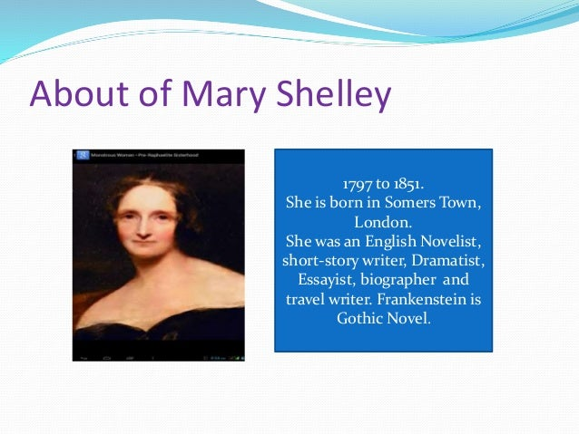 the interesting role of the character of safie in the novel frankenstein by mary shelley The fantastic success of mary wollstonecraft shelley's frankenstein  it is interesting to note that shelley's  frankenstein frankenstein summary character.