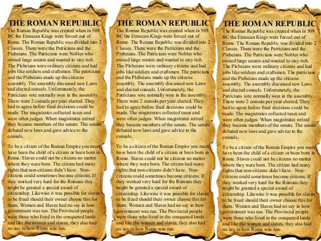 3 who ran the roman republic worksheets – Roman Republic Worksheet