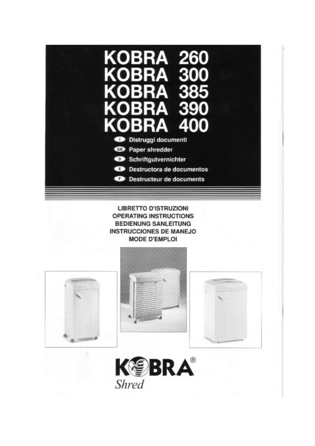 LIBRETIO D'ISTRUZIONI OPERATING INSTRUCTIONS BEDIENUNG SANLEITUNG INSTRUCCIONES DE MANEJO MODE D'EMPLOI ~-- _ h • - K~BRA ...