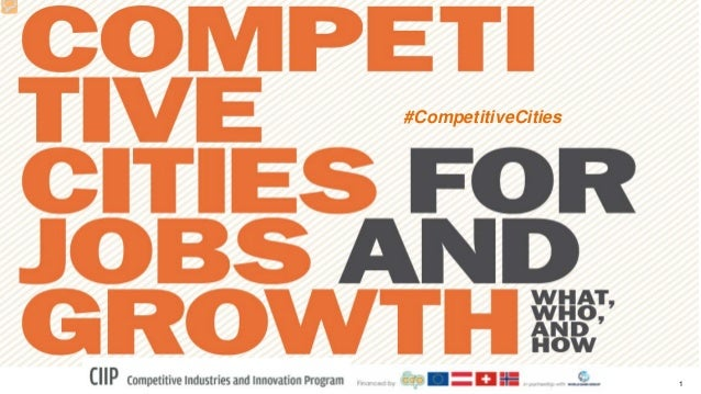 1 #CompetitiveCities