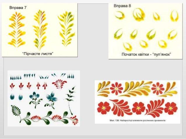 Матеріалами для Петриківського розпису є пензлик з котячої шерсті, гуашеві фарби. А для прорисовки, наприклад, ягід калини...