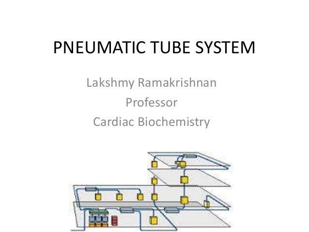 Pneumatic tube system