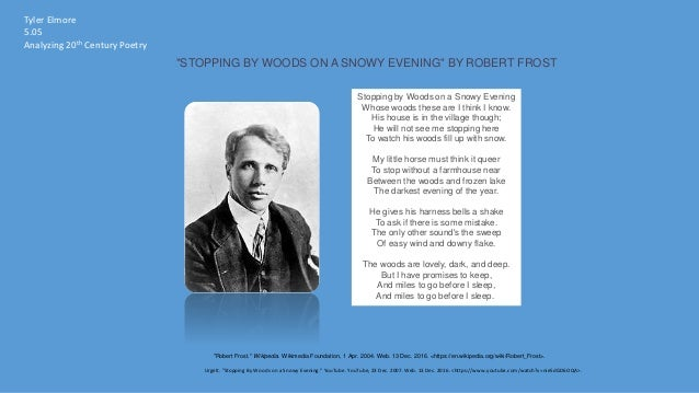 robert frost as a modernist poet Modernist exponents in robert frost's poetry: a critical analysis varshika srivastava research scholar, department of english & mel, university of allahabad ts eliot explained about the modern age in his essay ‗the metaphysical poets' (1921), ―it appears likely that poets in our civilization, as it exists at present, must be difficult.