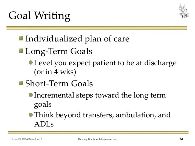 management and long term goal Nurse keith: your nursing career, the long and short term  a master's degree in nursing management and  you for the new long-term goal of becoming an .
