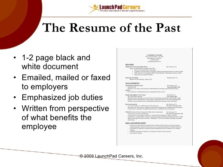 SlideShare  How Resume Is Written