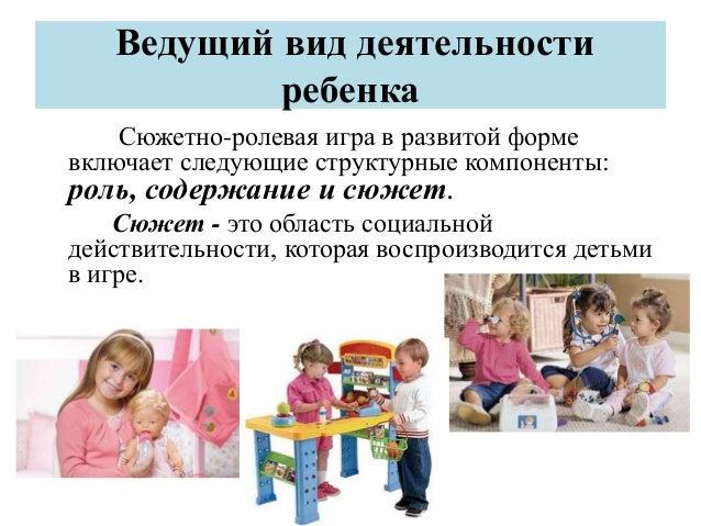 Сюжетно-ролевая игра как ведущий тип деятельности ребенка дошкольного возраста битва за мечту ролевая игра