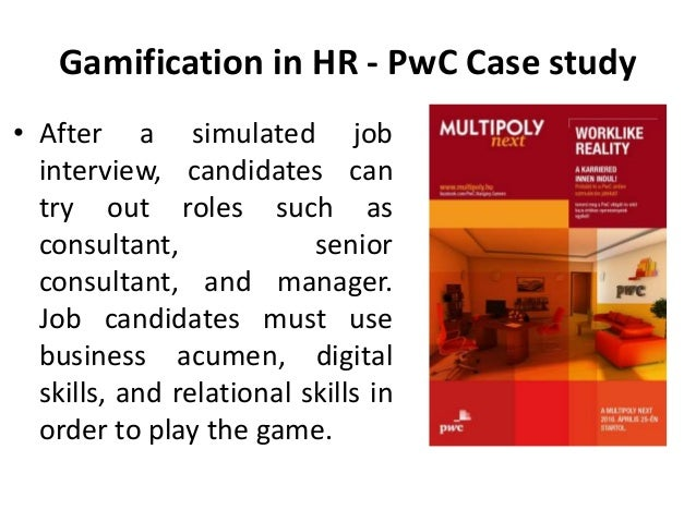 pwc consulting client case studies Clients today expect more than a strategy  as part of the pwc network, we offer  unrivalled access to industry and functional  why are case studies used 21.