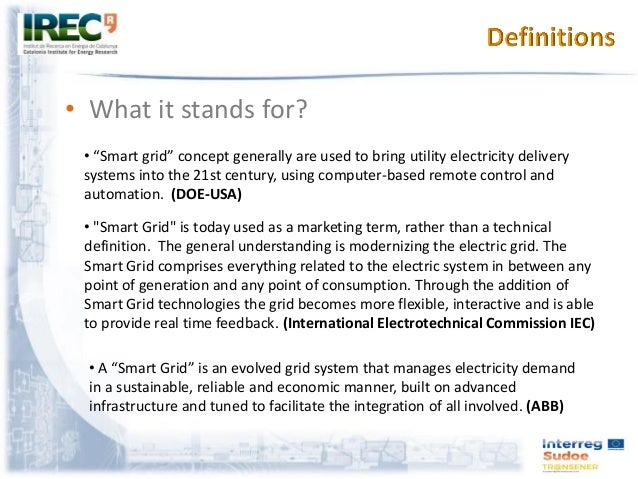 Smart Grid Concept: Key challenges for research