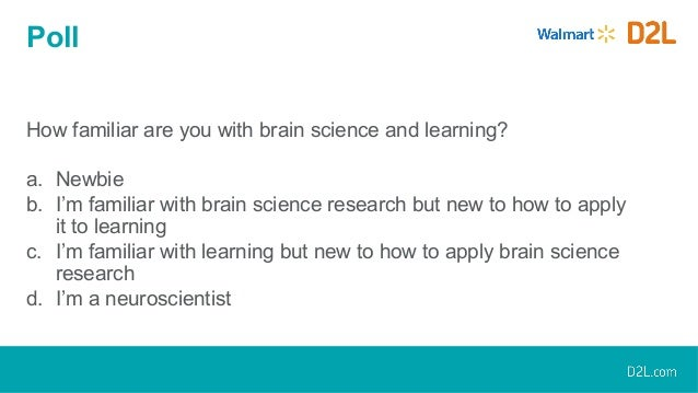 How To Apply Brain Science Of >> Applying Brain Science In Online Learning Design A Practical Approa
