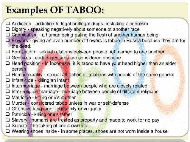 5 prejudices taboos and collective behavior 3