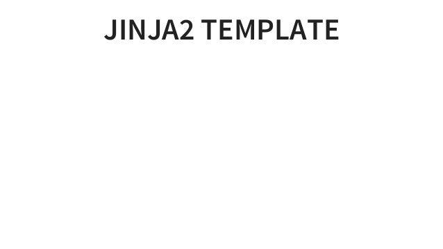 JINJA2TEMPLATE